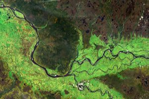 Satellite Image River